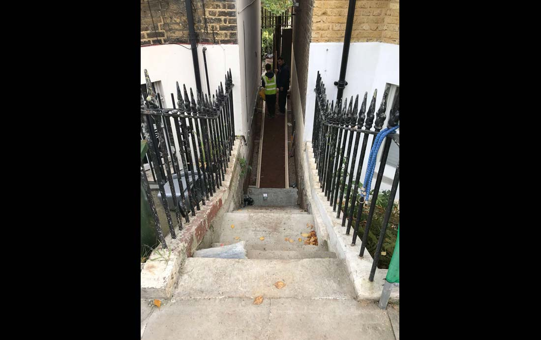 french drain-storm drainage-London