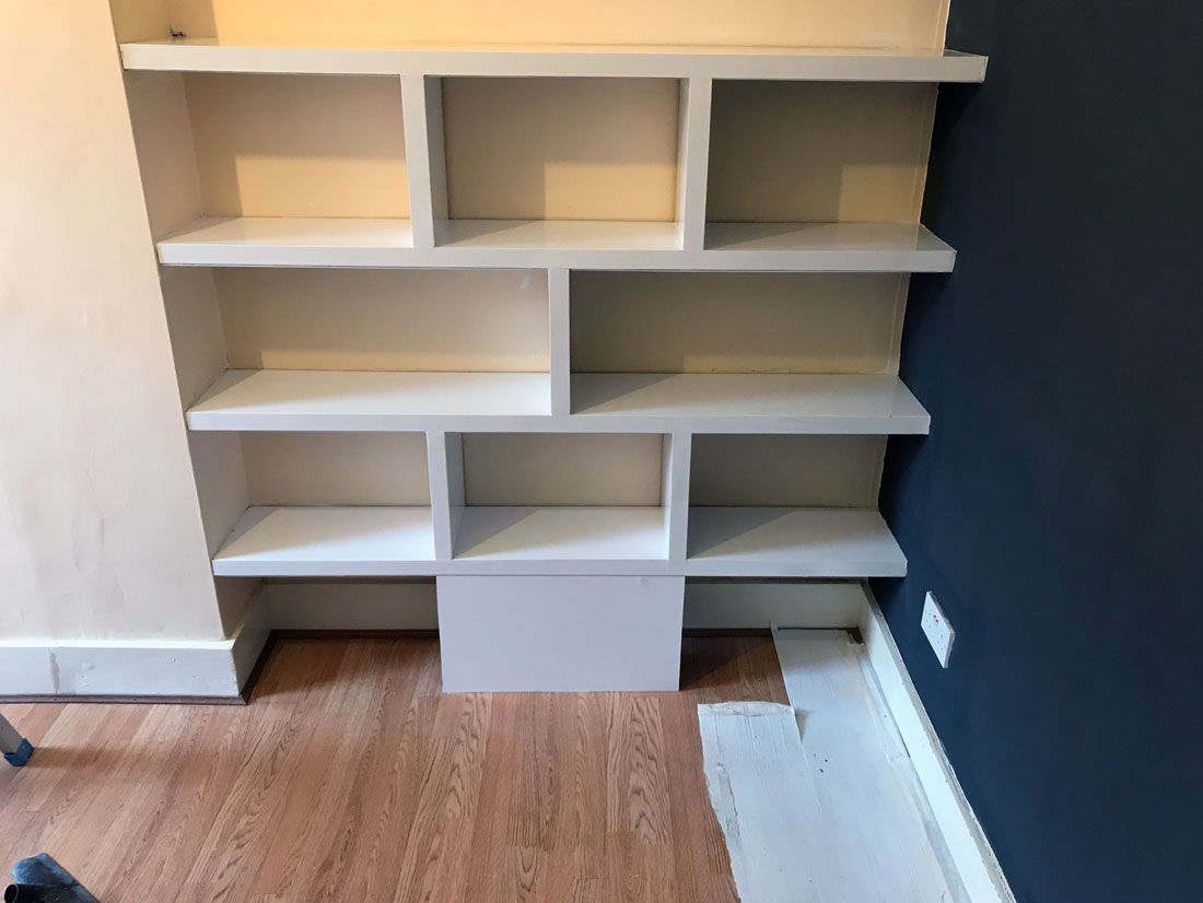 custom made bookshelve