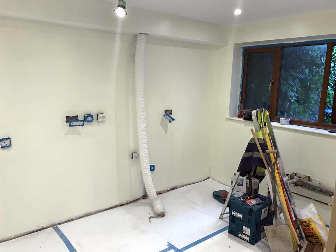 Kitchen Refurbishment in SE London | S & M Solutions Ltd